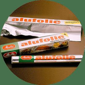 Aluminiumfolie från Melitta