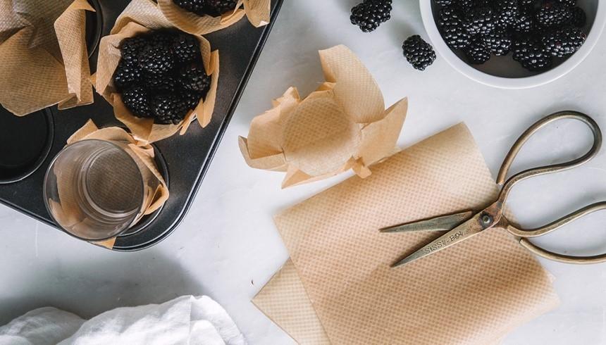 Bakplåtspapper till muffinsformar med Toppits