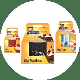 Muffinsformar från Toppits®