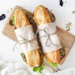 Nybakade baguetter