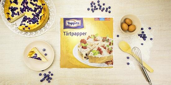 Tårtpapper från Toppits