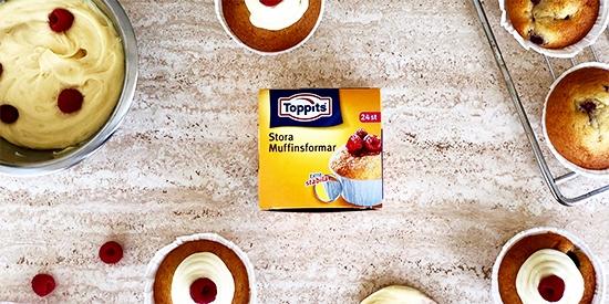 Toppits® Stora muffinsformar