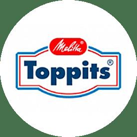 Toppits® logotyp från 1988